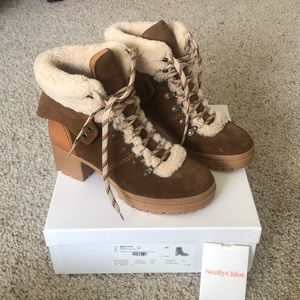 New in Box See by Chloe Eileen hiking boots